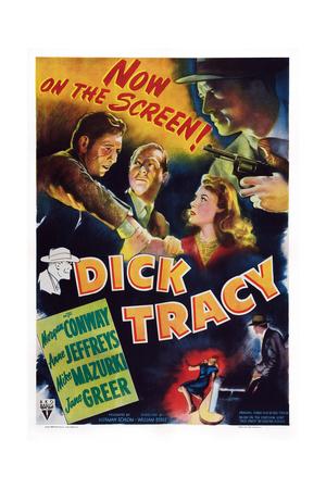 Dick Tracy Giclee Print