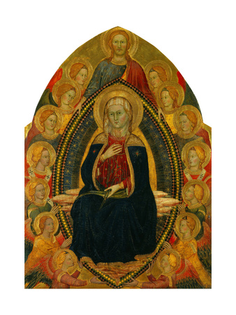Assumption of the Virgin Giclee Print by Turino Vanni