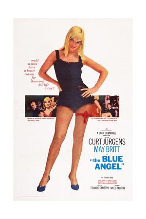 The Blue Angel Giclee Print