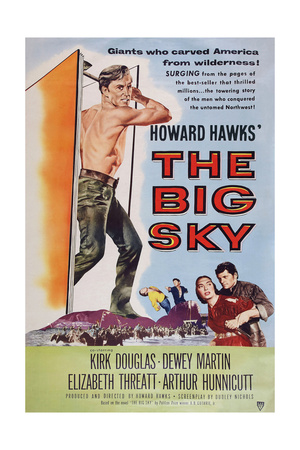 The Big Sky Giclée-tryk