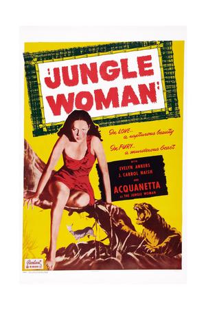 Jungle Woman Giclee Print