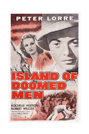 Island of Doomed Men Giclee Print