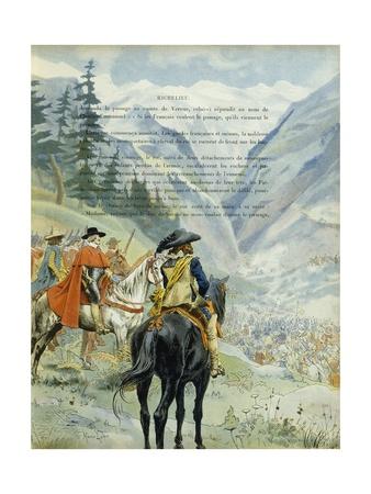 Battle of Pas-De-Sus Giclee Print by Maurice Leloir