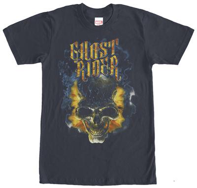 Ghost Rider- Fiery Skull T-shirts