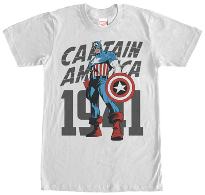 Captain America- Hero Since 1941 T-shirts