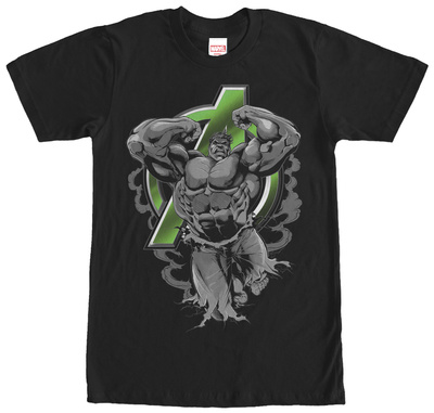 Avengers- Ripped Hulk T-shirts