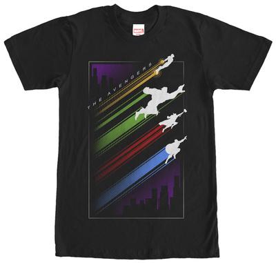 Avengers- Color Streaks T-Shirt