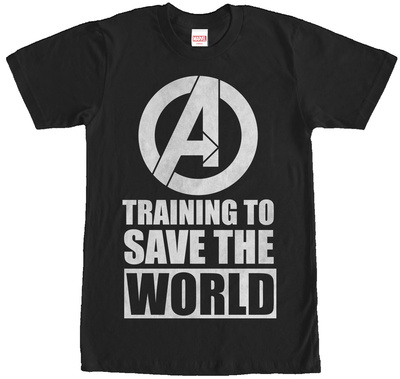 Avengers- Training To Save The World T-shirts