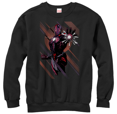 Crewneck Sweatshirt: Iron Man- Blast Away T-Shirt
