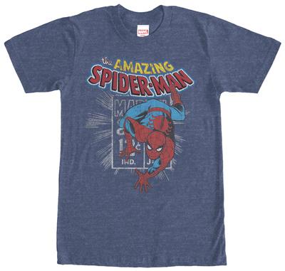 Spiderman- Distressed Stamp T-shirts