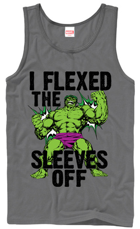 Tank Top: Incredible Hulk- Sleeves Off (Premium) Tank Top