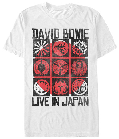 David Bowie- Live In Japan T-shirts