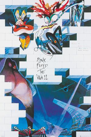 Pink Floyd- The Wall Kunstdruck