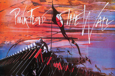 Pink Floyd- The Wall Hammers plakat