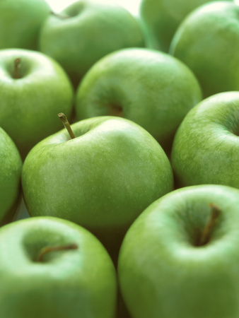 Green Apples Photographic Print by Iain Bagwell