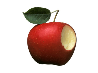 Bitten Apple Photographic Print by Wolfgang Usbeck
