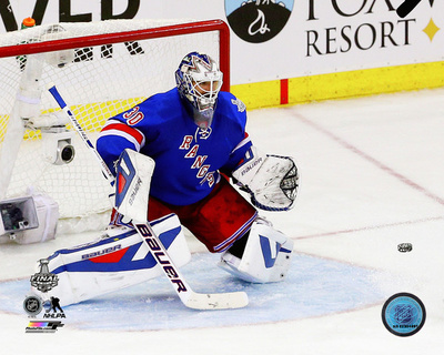 Henrik Lundqvist Game 4 of the 2014 Stanley Cup Finals Action Photo