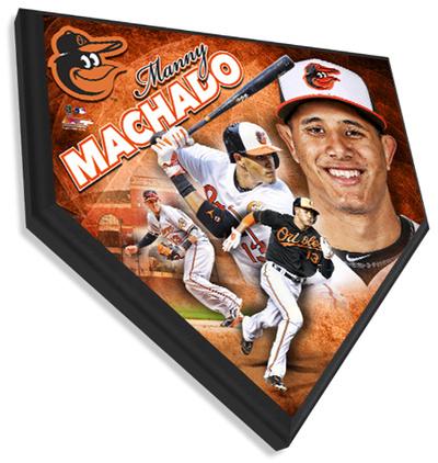 Manny Machado Home Plate Plaque Wall Sign