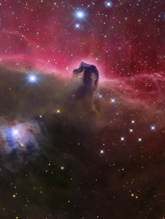 The Horsehead Nebula, Barnard 33 in the Orion Constellation Photographic Print by  Stocktrek Images