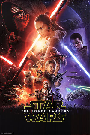 Star Wars: The Force Awakens- One Sheet Posters