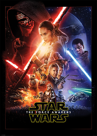 Star Wars The Force Awakens- One Sheet Kæmpe plakat