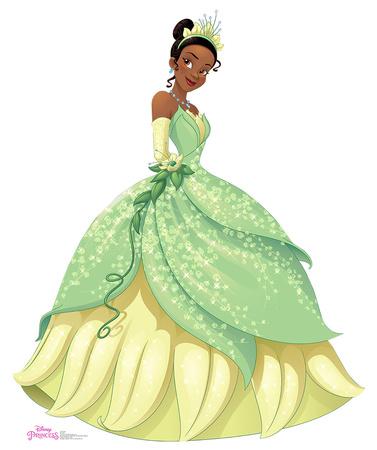 Tiana - Disney Princess Friendship Adventures Cardboard Cutouts