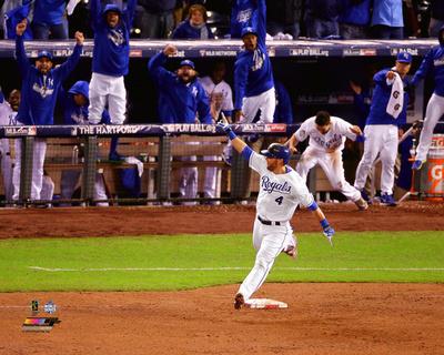 Alex Gordon Home Run Game 1 of the 2015 World Series Photo