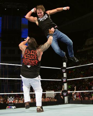 Dean Ambrose 2015 Action Photo