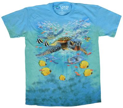 Swimming Sea Turtles Shirts