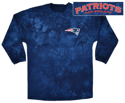 Long Sleeve: NFL: Patriots- Gridiron (Front/Back) Long Sleeves