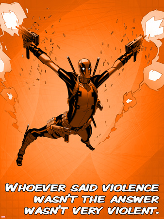 Deadpool – Whoever Said Violence Wasn't the Answer, Wasn't Very Violent Photo