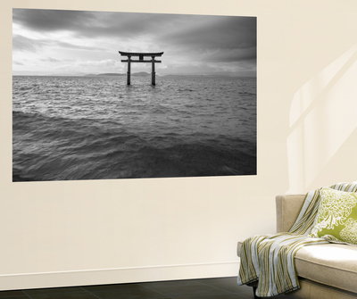 Biwa Japan Mural por Art Wolfe