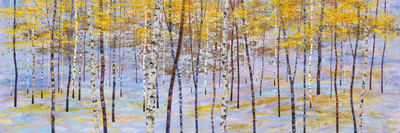 Iridescent Trees III Giclee Print by Alex Jawdokimov