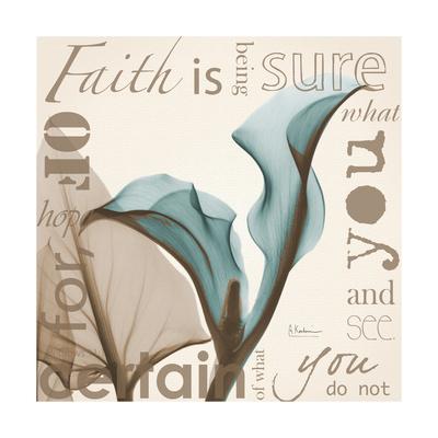 Calla Faith Premium Giclee Print by Albert Koetsier