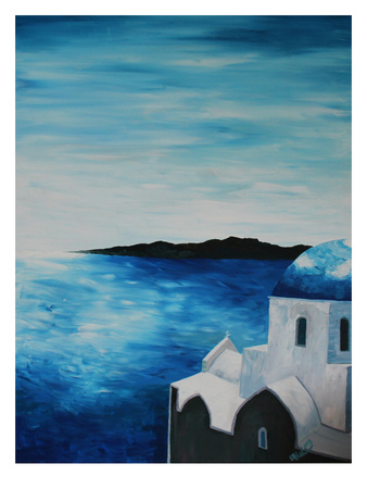 Santorini I Posters by M Bleichner