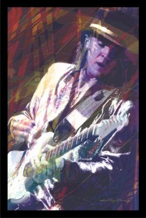 David Glover- Guitar Master Print by David Glover