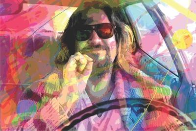 David Glover- The Dude Posters af David Glover