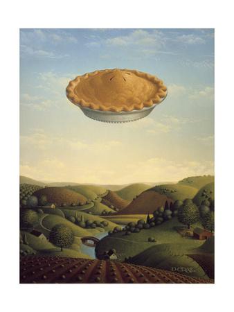 Pie in the Sky Giclee Print by Dan Craig
