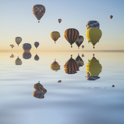 Love is in Air V Photographic Print by Moises Levy