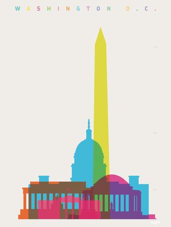 Washington DC Giclee Print by Yoni Alter