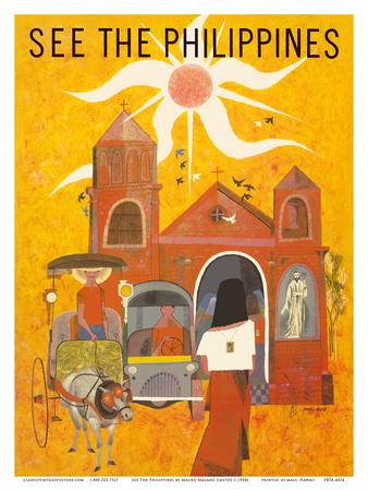 See The Philippines - San Augustin Church - Manila Prints by Mauro Malang Santos
