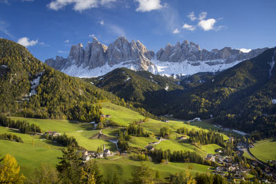 Val di Funes, Santa Maddalena, Dolomites, Trentino-Alto-Adige, Italy Photographic Print by Brian Jannsen