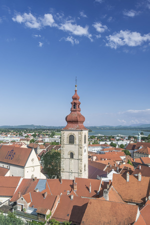 Slovenia, Ptuj, Old Town Photographic Print by Rob Tilley