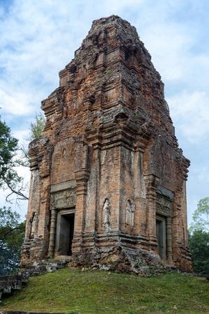 Cambodia. Bakong Temple, Near Siem Reap. Shiva Shrine Photo by Charles O. Cecil