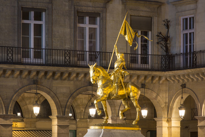 Equestrian Statue of Joan of Arc at Place Des Pyramides, Paris, France Photo by Brian Jannsen