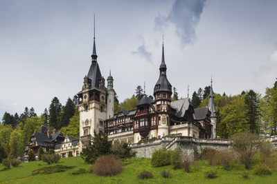 Romania, Transylvania, Sinaia, Peles Castle, Built 1875-1914 Photo by Walter Bibikow