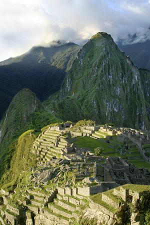 Peru, Machu Picchu, Morning Photo by John Ford