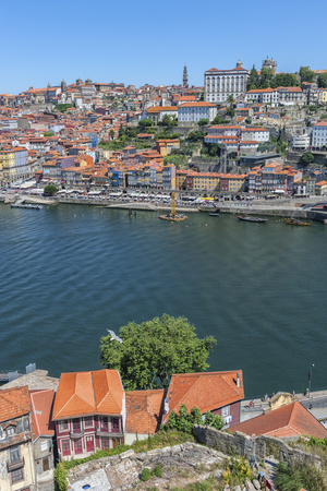 Europe, Portugal, Oporto, Douro River Photo by Lisa S. Engelbrecht