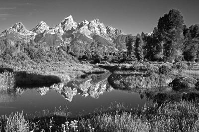USA, Wyoming, Grand Teton National Park. Mountain Sunrise Photo by Dennis Flaherty