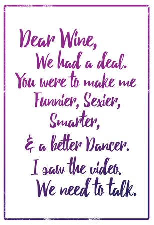 Dear Wine Posters